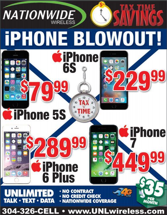 Iphone  No Credit Check Financing